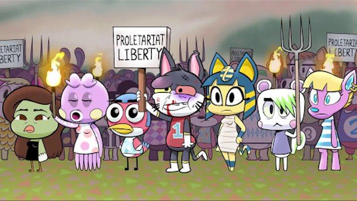 Изабель всё разрушила (Animal Crossing пародия)