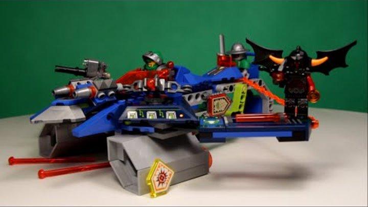 LEGO NEXO KNIGHTS - AARON FOX'S AERO-STRIKER V2, 70320 / ЛЕГО НЕКСО НАЙТС - АЭРО-АРБАЛЕТ ААРОНА.