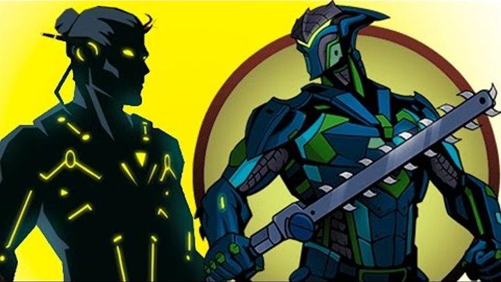 ТИТАН я иду игра как мультик Shadow Fight 2 Бой с тенью #52 Изумруд Топаз Гранат Берил Капкан #КИД