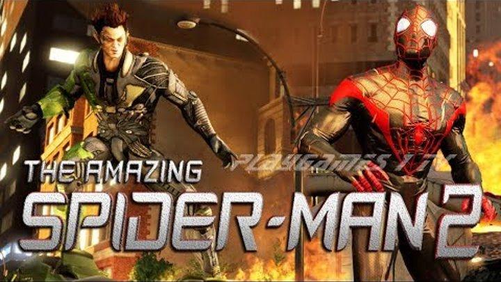ВЕЛИКИЙ СОВЕРШЕННЫЙ ЧЕЛОВЕК ПАУК 2 ПРОТИВ ЗЕЛЁНОГО ГОБЛИНА MARVEL The Amazing Spider Man 2 HD 1080