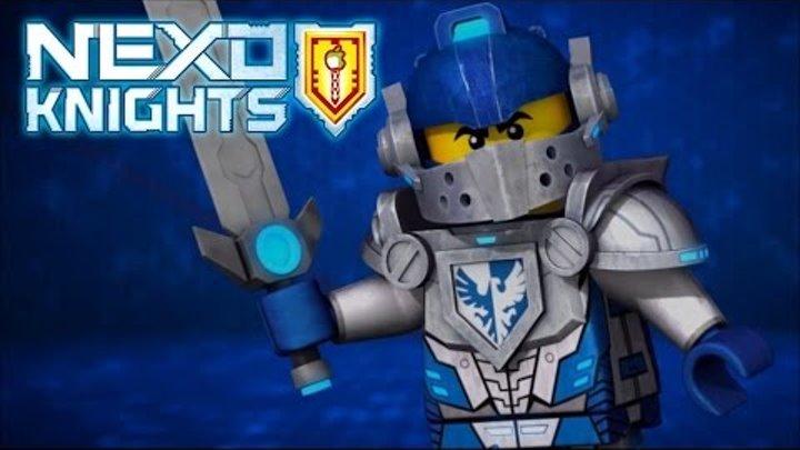 Мультик Игра Лего Рыцари Нексо. Битва с Лавовым Жуком.Часть №7 # Мультфильм