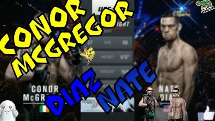 Конор МакГрегор vs Нейт Диаз(РЕВАНШ, ПОЛНЫЙ БОЙ) Conor McGregor vs Diaz Nate|НАРЕЗКА|