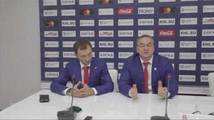 """Пресс- конференция. """"Витязь""""-""""Металлург"""" Нк. 04.09.2016"""