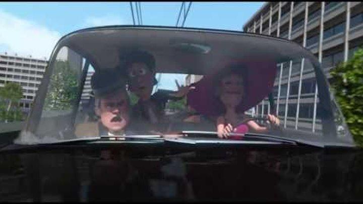 Olsen Banden på dybt vand klip: ud at køre med Yvonne