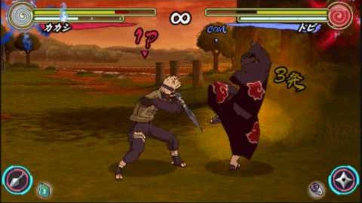 Naruto Shippuden Narutimate Accel 3 - Kakashi VS Tobi