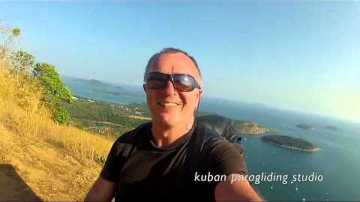 Плет на параплане, Пхукет часть 2я .Paragliding, Phuket, part 2