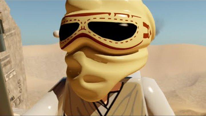 LEGO Star Wars The Force Awakens Part 3 Rey Finds BB8 & Finn Escapes w/ Poe PS4 Walkthrough