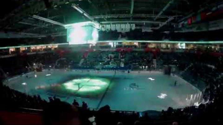 «Салават Юлаев» - «Ак Барс»: как Уфа-Арена заполнилась за одну минуту (хэй-хэй, это хоккей)