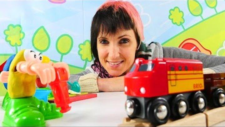 Мультики и видео для детей Весёлая Школа. Стройка и 3D мультфильм Грузовичок Лёва
