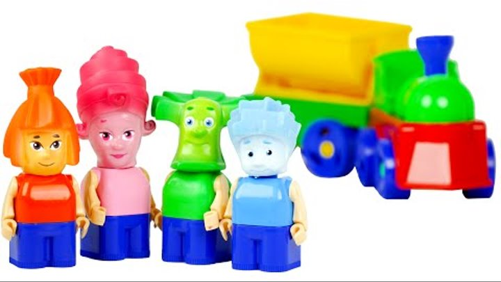 "VIDEO FOR CHILDREN ""Фикси Конструктор"" Игрушки из Мультфильма Фиксики | ""Fixiki Toys"""