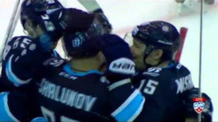 Александр Бойков о матче Сибирь - Барыс