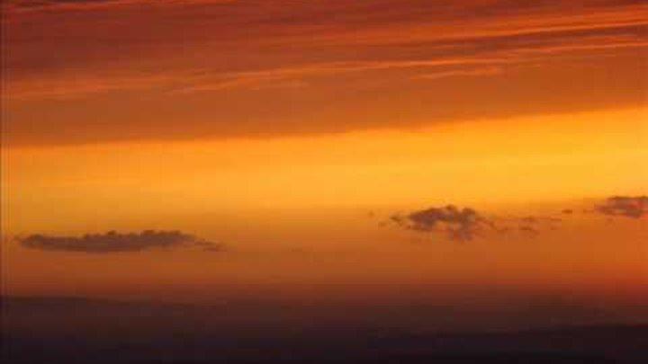 Заход солнца 9 сентября. Японское море..wmv
