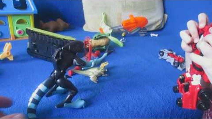 Челлендж battle, трансформеры, танки, spider man, пеппа, щенячий патруль. динозавры монстры.