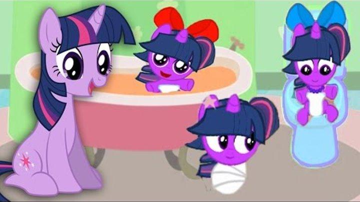 Май Литл Пони.Карманная пони Искорка. Мультик игра для детей. My little pony