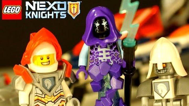 Lego Nexo Knights 2017 - Турнирная Машина Ланса 70348 - Игра и Мультики для Детей