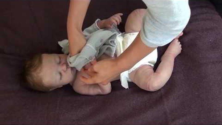 КУКЛА КАК ЖИВОЙ РЕБЕНОК ДЕВОЧКА!! REBORN FULL BODY Silicone Baby