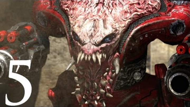 Serious Sam 3: BFE - Walkthrough - Part 5 [Episode Level 3: Broken Wings] (Gameplay)
