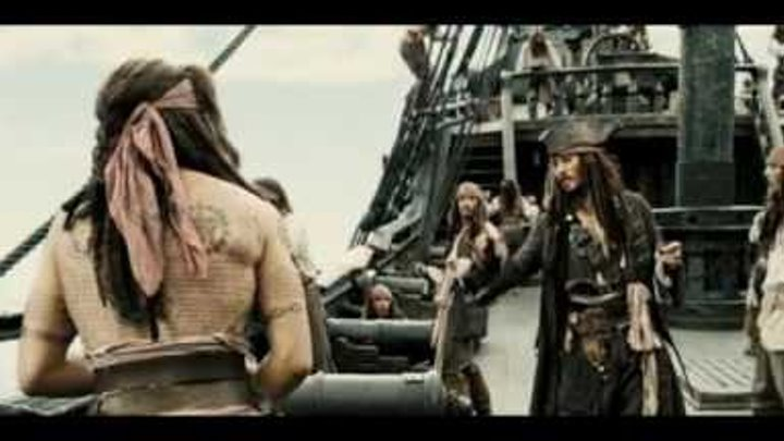 """Пираты Карибского моря отрывок """"безумия"""""""
