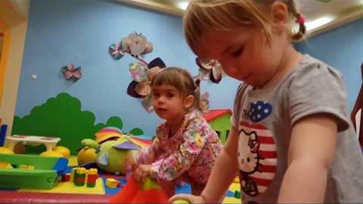 Детский развлекательный центр. Горки, батуты, и другие детские развлечения.