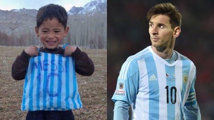 Messi Meets His Biggest Fan, Finally (The Story of Murtaza Ahmadi - The Paper Bag Boy )