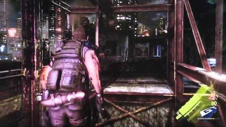 Resident Evil 6 - E3 2012: Chris Gameplay