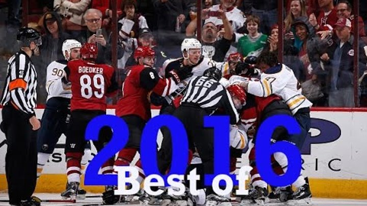 Top Ten NHL Hockey Fights of 2016