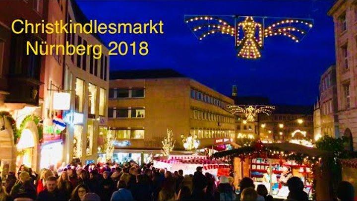 Nürnberg- Weihnachtsmarkt 2018 / Christmas market, Germany