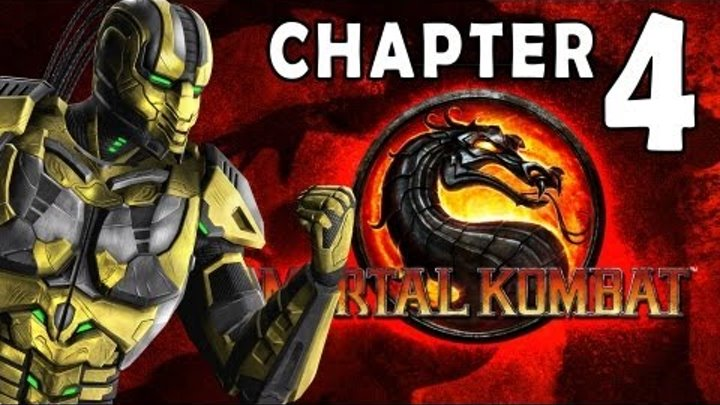 Mortal Kombat 9 - Story Mode - Chapter 04: Cyrax 1080P Gameplay / Walkthrough