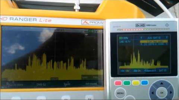 Сравнение спектров Promax HD Ranger и Dr.HD 1000 Combo