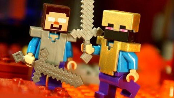 Lego Minecraft Survival 2 Мультфильм Лего Майнкрафт для Детей. Лего Мультики