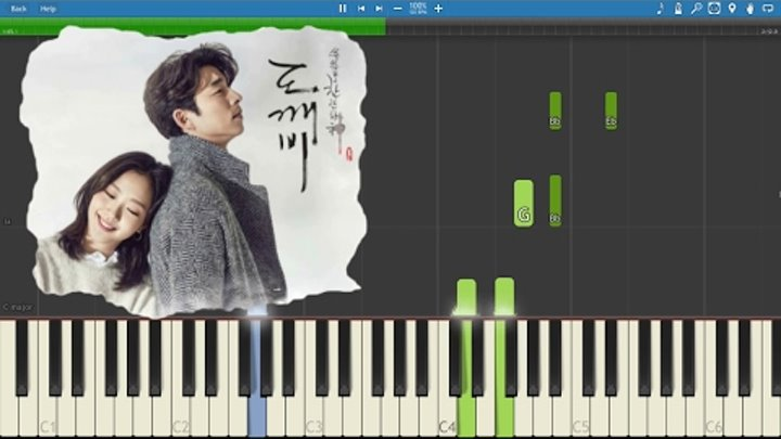 Goblin OST - Stay With Me - Piano Tutorial 도깨비- 피아노 - Chanyeol, Punch