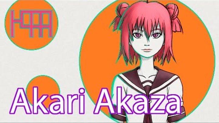 Akari Akaza (Speedpaint) Akari Akaza Yuru Yuri Nachuyachumi!+ 赤座 あかり ゆるゆり なちゅやちゅみ!+