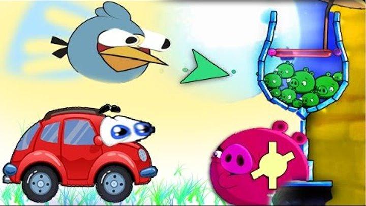 Злые птицы.Птицы Энгри бердс 2. Мультик игра для детей. Angry birds 2.