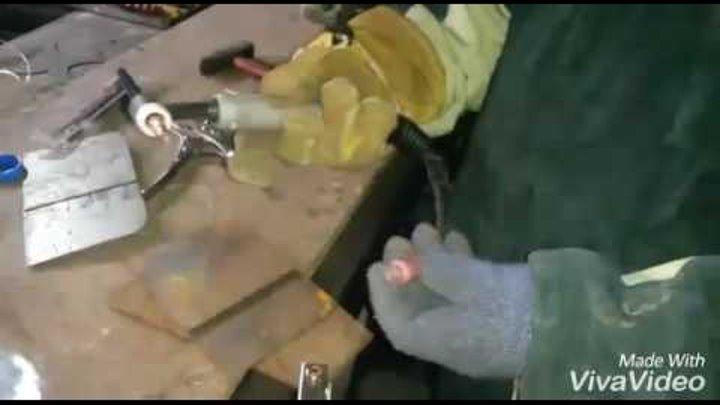 Точечная (контактная) сварка в среде аргона аппаратом TIG GROWERS WSME 200 AC/DC Pulse
