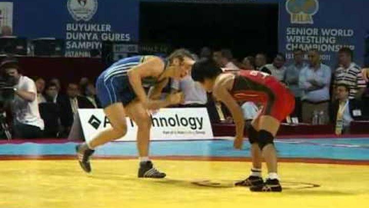 Mariya Stadnik World Championship 2011 gold medal match