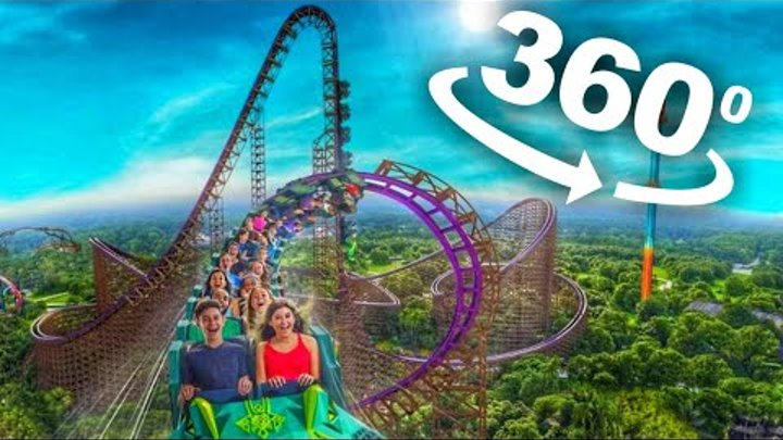 VR 360 Roller Coaster VR Videos 360 4K [Samsung Gear 360 VR Box Video] Virtual Reality Video 360