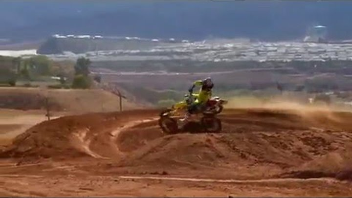 Ryan Dungey 450cc Supercross Testing