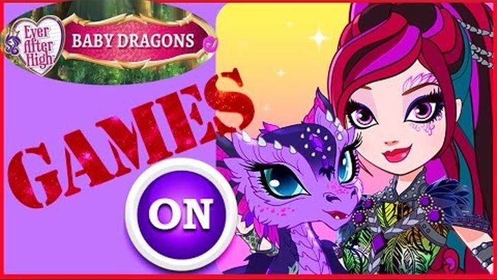 Ever After High Baby Dragons 2016 Видео игра для детей мультики дети и родители прохождение игры мод