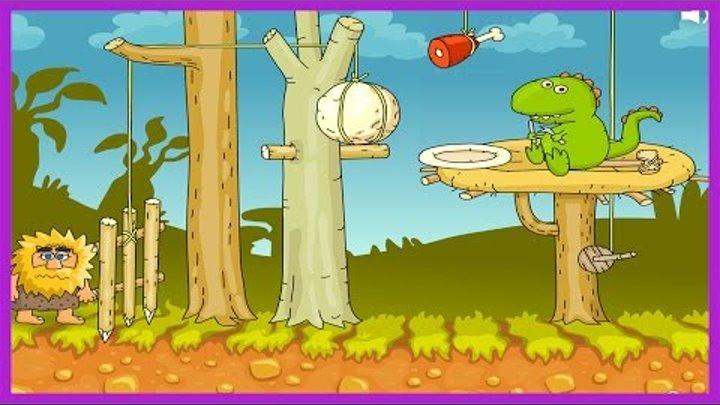 Адам и Ева 2 серия| Приключения,головоломка, мультик аниме!ADAM AND EVE