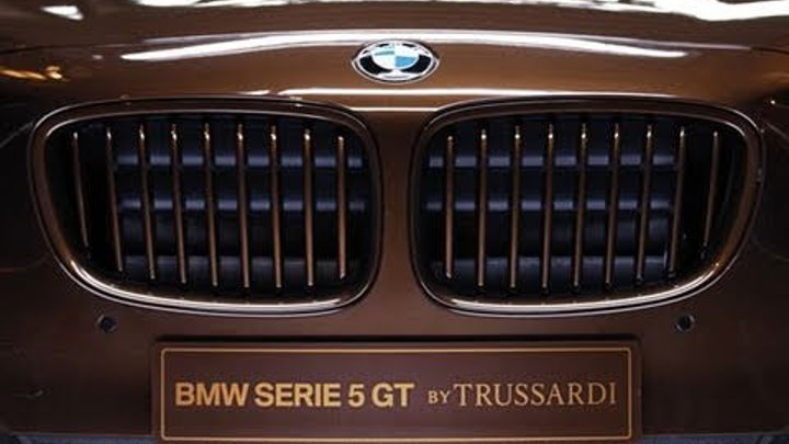 ► 2012 BMW 5-Series GT by Trussardi (Limited Edition)