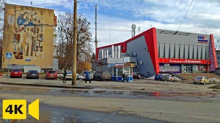 Город Харьков ▶ улица Космонавтов и 23 Августа, кинотеатр Довженко