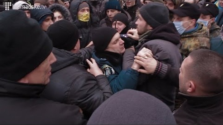 Самооборона Євромаймайдану відбила атаку на барикади