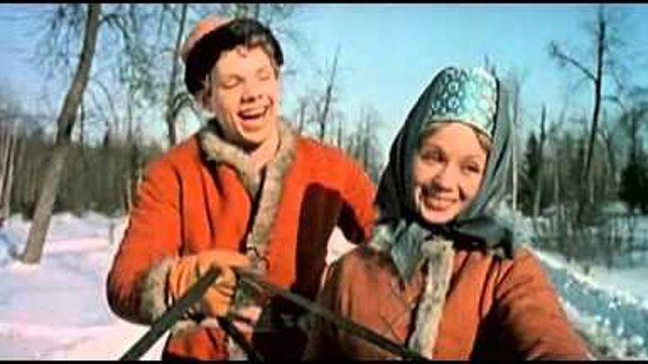 """30 """"КРЕПОСТНАЯ АКТРИСА""""/1963/песня """"Хороша ты матушка зима""""в исп.Поленьки и Митьки"""