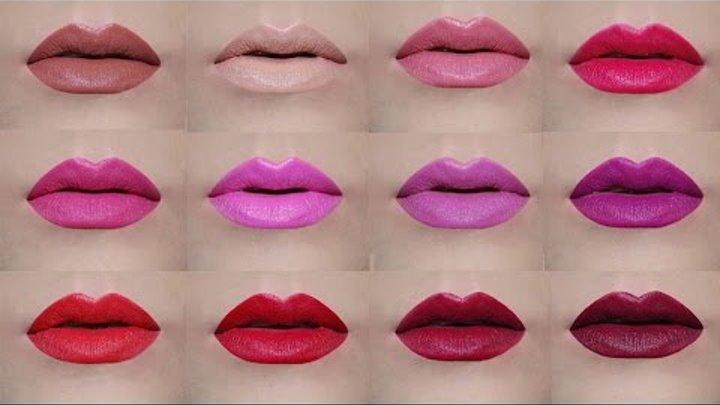 AVON True Color Perfectly Matte Lipsticks | Lip Swatches