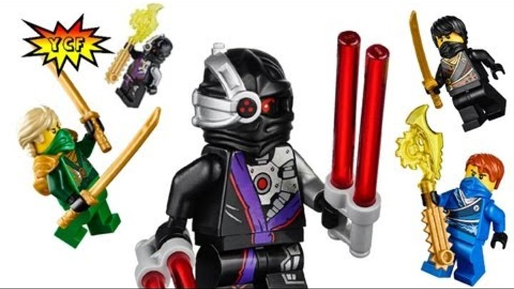 2014 Ninjago LEGO Minifigure and Set Pictures! 70721 70722 70723