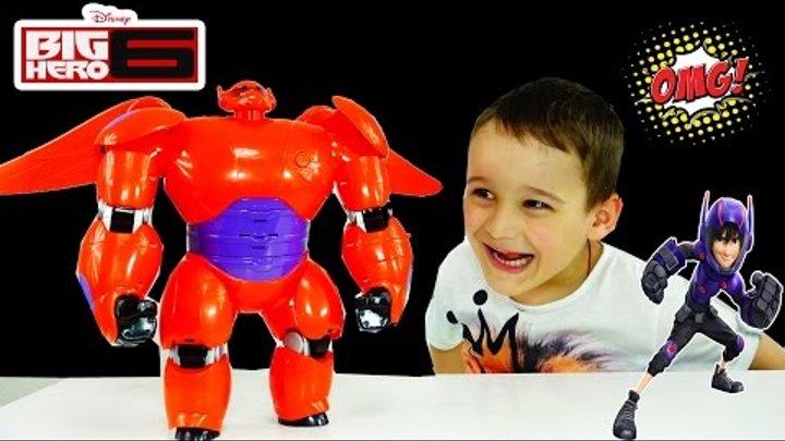 Летающий БЭЙМАКС ХИРО Город Героев игрушки Big Hero 6 Deluxe flying Baymax Super Sasha