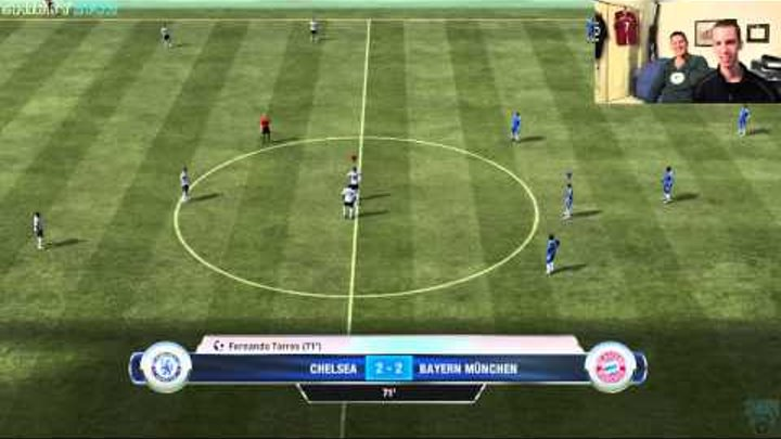 "FIFA 12 - Chelsea vs. FC Bayern Munich - ""Close Call Son!"" Football Gameplay Commentary"