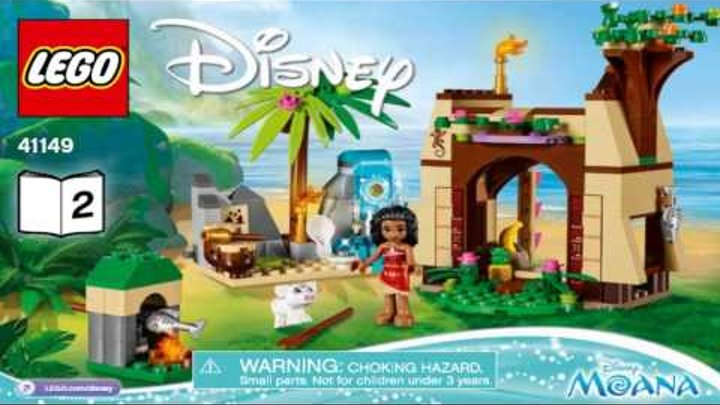LEGO Disney Princess MOANA'S ISLAND ADVENTURE 41149 Лего Приключения Моаны на затерянном острове #2