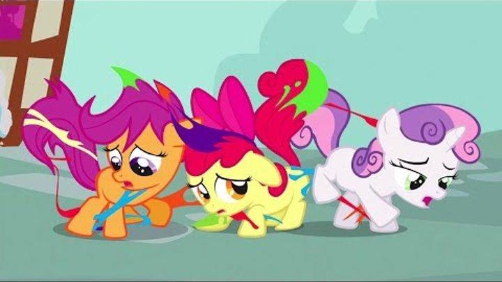 My Little Pony FIM - Крусайдеры ищут их знаки отличия FullHD