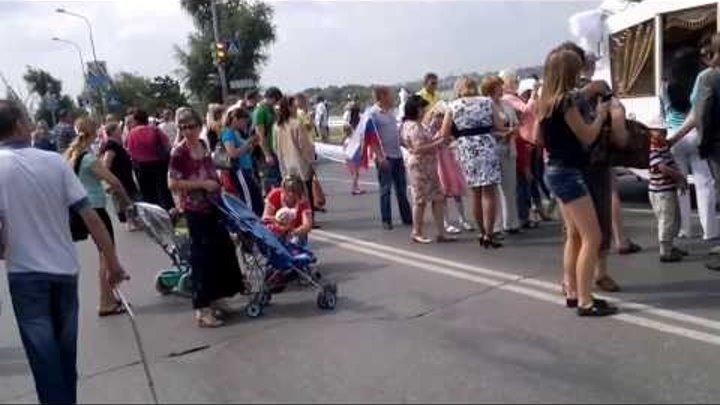 Омск, Рекорд Гиннеса, Самая длинная фата невесты 1